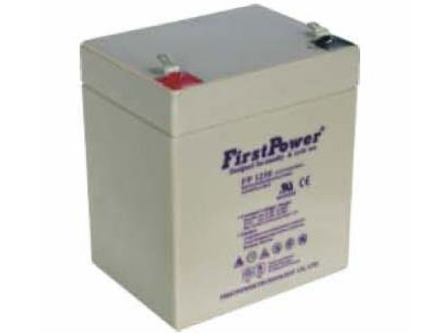 Battery 12 Volt. 5.5 Amp.