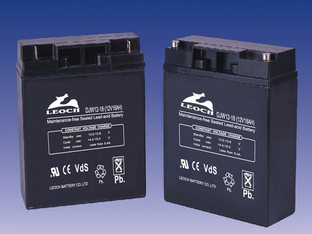 Battery  12 Volt.  18 Amp.